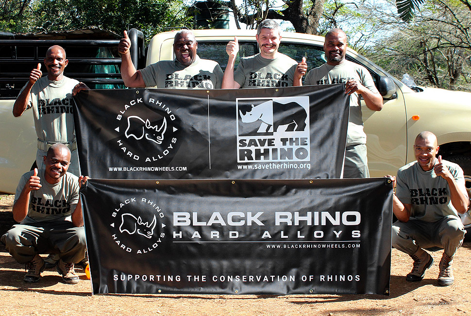 Black Rhino Wheels supports Save the Rhino International