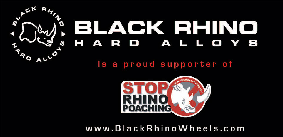 Black Rhino proud supporter of Stop Rhino Poaching